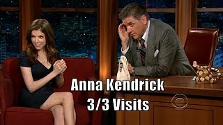 Anna Kendrick - Talks Shyness, Card Games & Dogs - 3/3 Appearances In Chronological Order [HD]