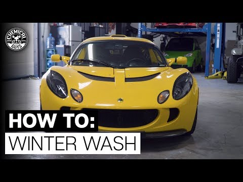 How To Clean Your Car During Winter! - Chemical Guys