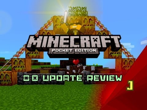 Minecraft Pocket Edition 0.8.0 Update Review and All Features