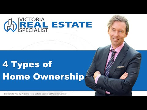 *Types of Home Ownership* in Canada | Victoria, BC Real Estate