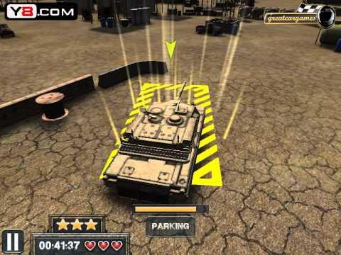 Review game Battle Tank 3D Parking