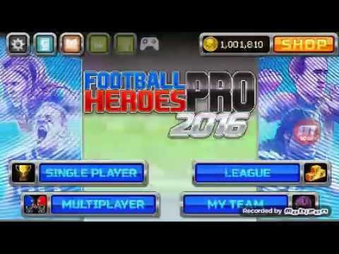 Football Heroes 2016)Opening boost packs with a goo d team