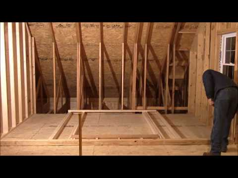 Building My Own Home: Episode 89 - Framing Upstairs Rooms Part 2