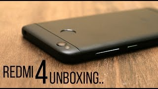 Redmi 4 Unboxing in Hindi and First Impression