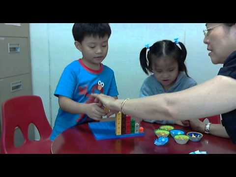 Speech Language Therapy: using colored Blocks & Cookies to learn Language for Maths