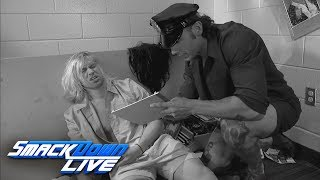 "Fandango discovers a fallen Tyler Breeze during ""The Fashion Files"": SmackDown LIVE, June 13, 2017"