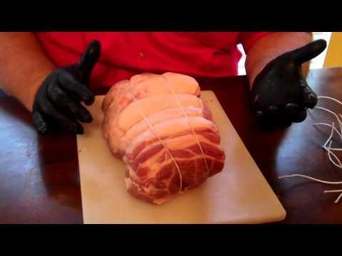 Smoked and Sliced BBQ Pork -