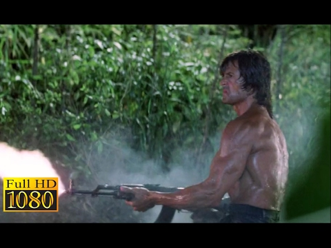 Rambo First Blood 2 (1985) - Escaping Scene (1080p) FULL HD