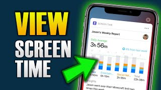 HOW TO VIEW SCREEN TIME ON SAMSUNG/ANDROID