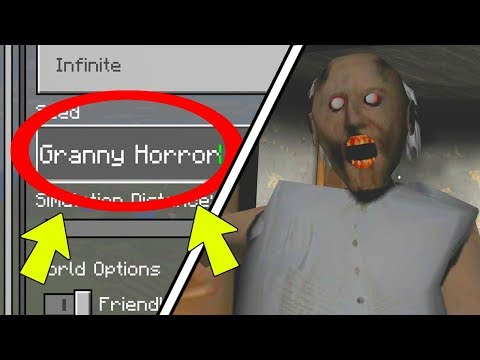 NEVER Play Minecraft SURVIVAL on GRANNY HORROR WORLD! (Haunted
