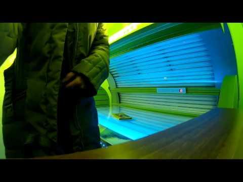 In the tanning salon - solarium