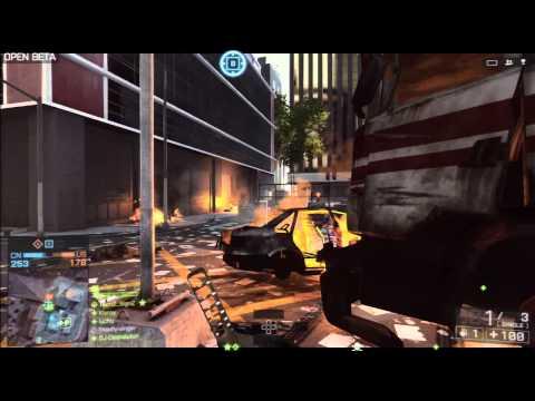 PS3 Battlefield 4 Beta - Online Multiplayer Full Match Win - HD 720p