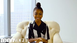 Watch Skai Jackson Give You The Best Advice Ever Teen Vogue