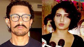 Did Aamir's Alleged GF Fatima Sana Sheikh Called Him To Check On His Health? | Aamir Khan