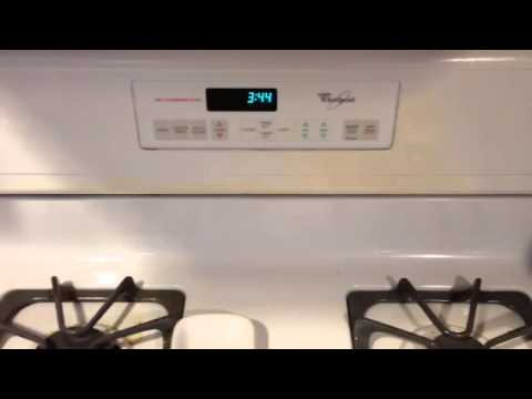 Clicking in my whirlpool gas stove
