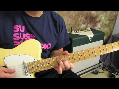 Learn How to Play Guitar - Lessons - Chords - Theory - Fender Telecaster