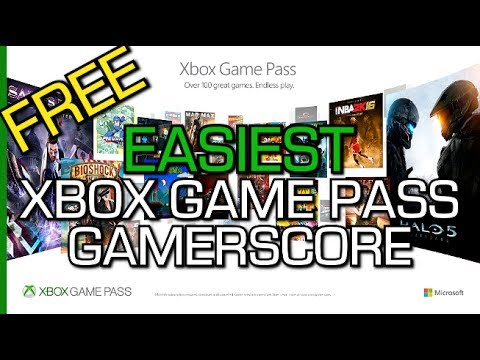 EASIEST XBOX GAME PASS Games for Gamerscore - FREE TRIAL w/ Gold (June 2017)