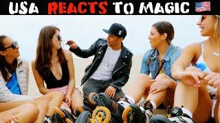 Los Angeles Reacts To Magic 2.0 -Julien Magic