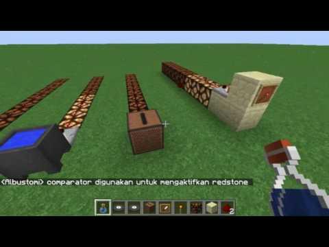 Minecraft - Apa Itu redstone Comparator ?