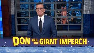 Trump Flees To Switzerland While His Impeachment Trial Kicks Off In The Senate