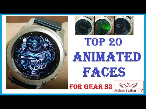 Best animated watch faces for Gear S3 / Gear S2 - Top 20 face