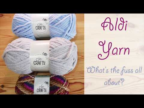 What's the deal with Aldi Yarn? Let's take a look...