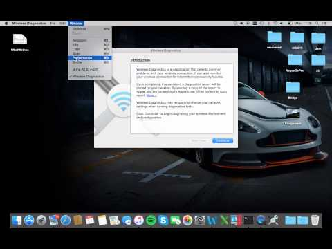 OSX - How to Scan for the best wireless channel