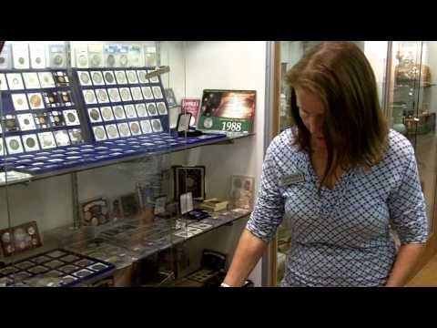 We buy silver, We buy silver coins and antique coins at Gannon's Antiques