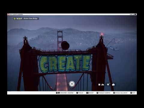CAN YOU BE ON TOP OF THE GOLDEN GATE BRIDGE IN WATCH DOGS 2?!??!?!??!?!?