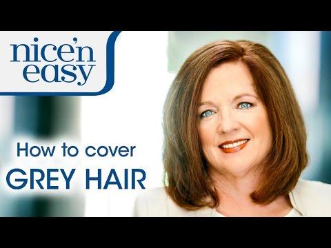 Home Hair Dye Tips: How to Cover Stubborn Grey Hair | Nice 'n Easy