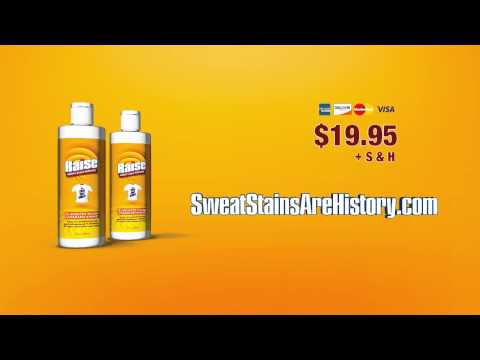 How to get Rid of Yellow Sweat Stains in Clothing