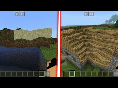 MCPE 1.2 How To Get Bends In Minecraft PE