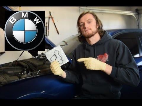 BMW 328i Oil Filter Housing Gasket DIY - E90 N52- New 2017