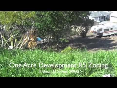 ONE ACRE OF LAND FOR SALE: Develop multi family in Los Angeels - El Sereno 90032