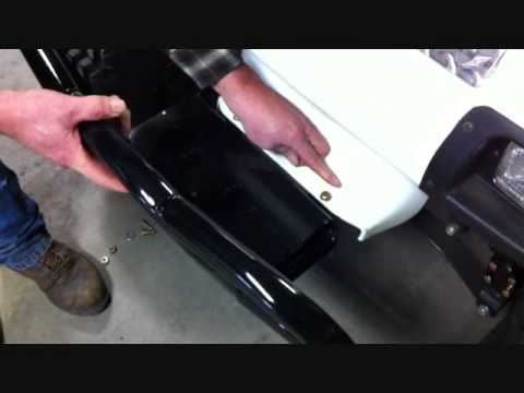 Jakes Winch Mount Bumper Installation for Club Car DS