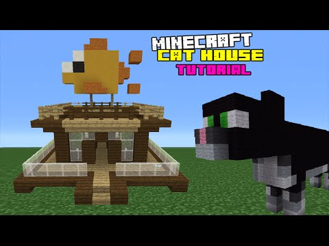 Minecraft Tutorial: How To Make A Cat House