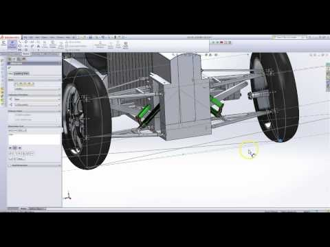 Suspension Design: Roll Center and Turning Radius