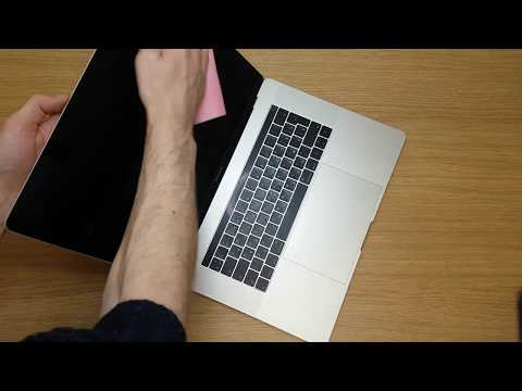 How to perfectly clean Apple MacBook Pro A1707 keyboard and body Watch