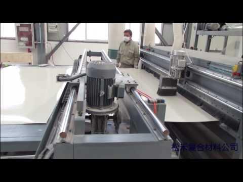 FRP sheet making machine 3M Line