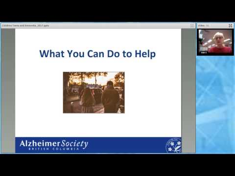 Children, teens and dementia