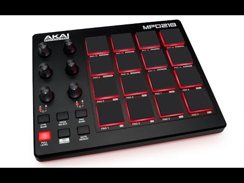 MIDI Drum Pad Controller with Software Download Package 16 pa