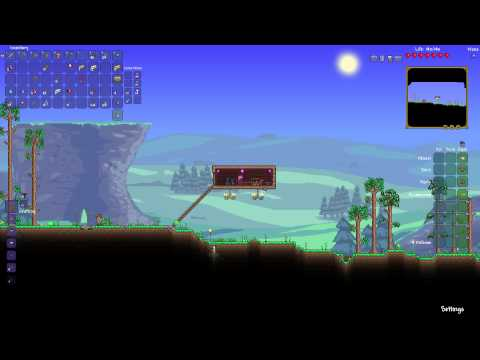 Terraria - What are Slush Blocks and Silt Blocks - The Extractinator  - Tutorial #4