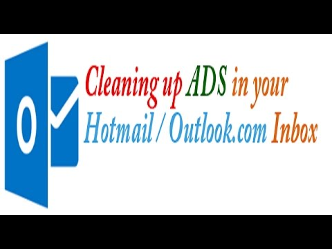 how to remove advertisement from hotmail,simple way speech with demo