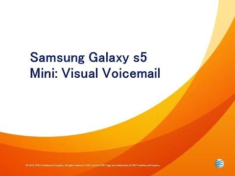 Galaxy S5 Mini: Visual Voicemail