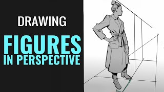 SKETCHING FIGURES IN PERSPECTIVE: EXTREME PERSPECTIVE AND WIDE ANGLE