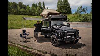 Land Rover Defender 110 Overland Vehicle build / Expedition Set-up - Walk around