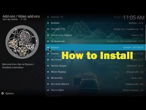 How to Install Elysium on Kodi v17.3 | 2017 latest version tutorial