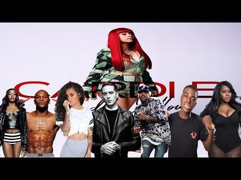 Celebrities Talk About Cardi B (Kodak Black, G-Eazy, Remy Ma, Chris Brown, Kehlani & more)