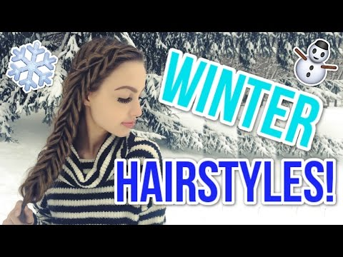 Cute Winter Hairstyles You Need To Try!