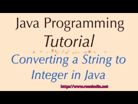 How to convert String to Integer in Java?